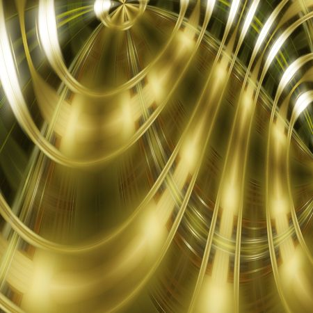 Golden techno background