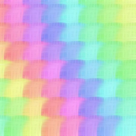 Pastel rainbow pattern photo