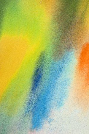 watercolor on wet,  my handwork