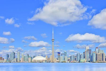 Toronto skyline, recent update. October 2009.  photo