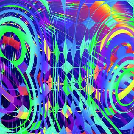 colors: abstract carnival backdrop