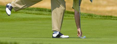 golf game moment Stock fotó