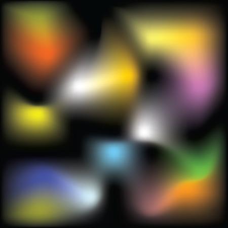 absract: Quasi tre effetto tridimensionale. Mash sfumatura.