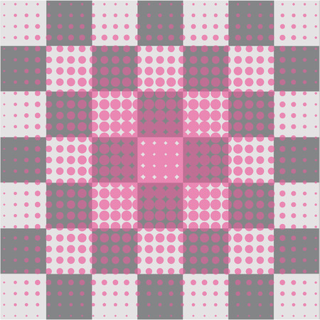 dotted checkers backdrop Иллюстрация