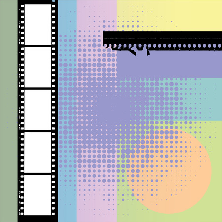 Film stripe, frames