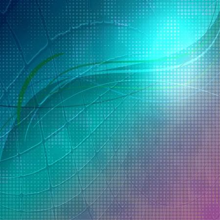 Hi-tech detailed artistic texture