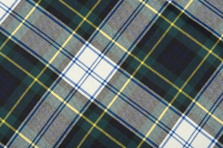 specific clothing: Campbell tartan wool fabrics