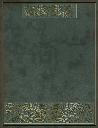 Ancient front page, book cover