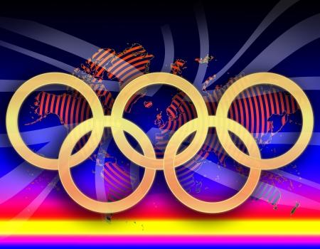 Olympische Spelen in Londen Stockfoto - 14617137