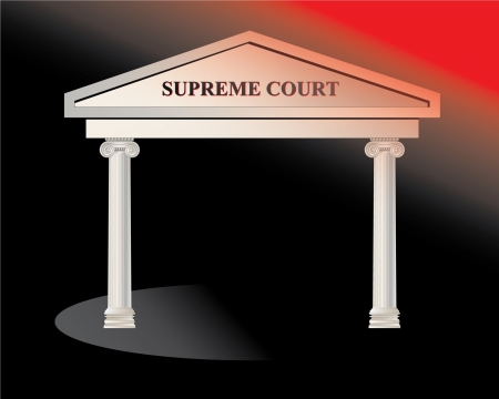 Supreme Court Building  Illustration