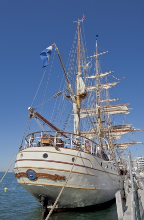 traditionally dutch: Toronto, Ontario, Canada - JULY 3, 2010:  Tall Ship Europa, built in 1911,  docked at Toronto