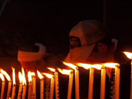 prayer candles: Japanese festival prayer candles
