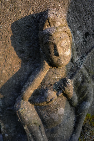 bodhisattva: Stone bodhisattva