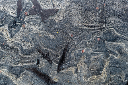 Textured stone surface, creative, strange on stone. Banque d'images