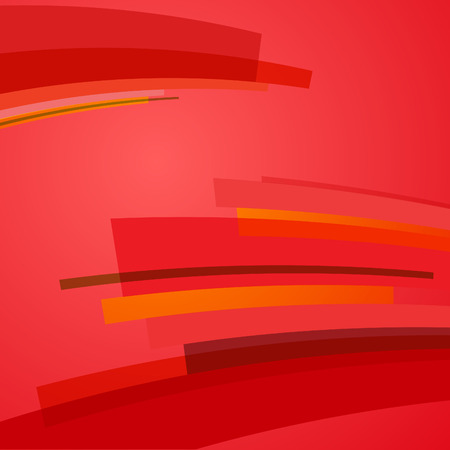 distort: abstract red vector background with rectangles and strippes illustration Illustration