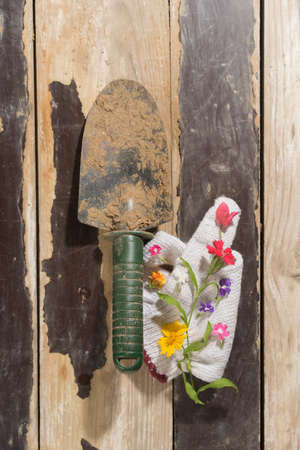 the equipment: Gardening Equipment Stock Photo