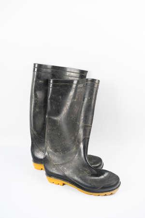 rain boots: rain boots Stock Photo