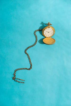 time flies: pocket watch