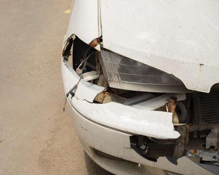 damaged: Damaged Car