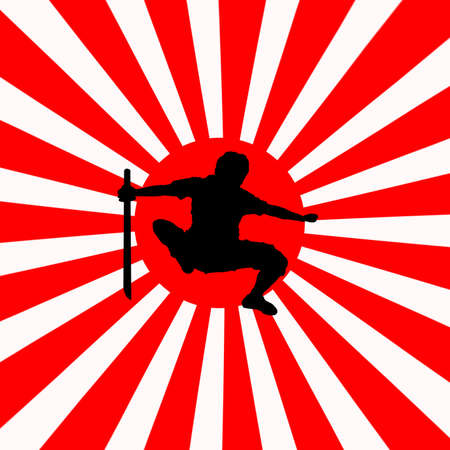 asian warrior: japan ninja
