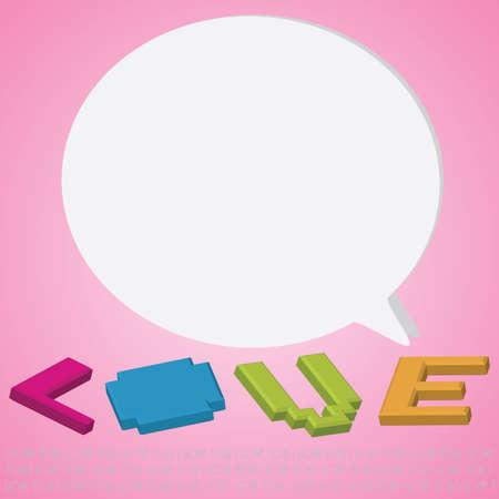 love card Stock Vector - 17858062