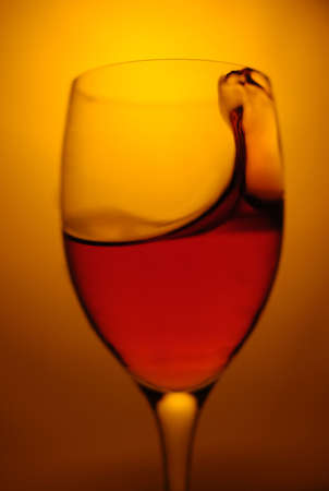 abstract liquor: red wine