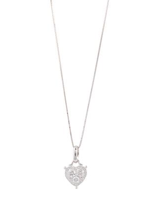 diamond stones: necklace Stock Photo