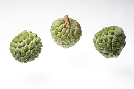 rare  drogon  fruit  with  white  pulp  and  sweet   taste   Stock Photo