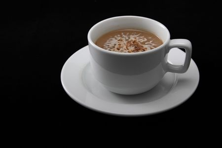 a delicious cup of coffee or hot chocolate
