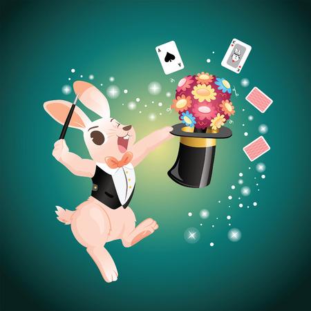 show of Rabbit Magician