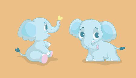 cherish: Elephant Baby so  happy