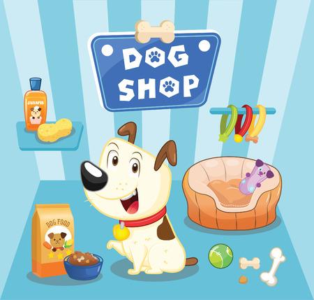 huellas de perro: tienda de perro