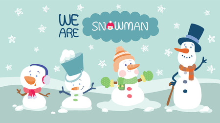 we are snowman
