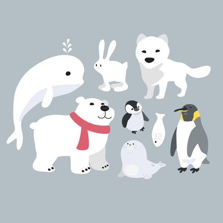 arctic animals Reklamní fotografie - 54333941