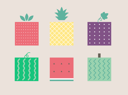 fruit pattern cute graphic