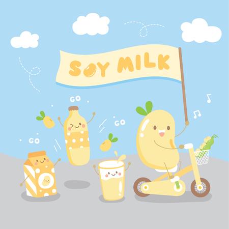 nous sommes du lait de soja