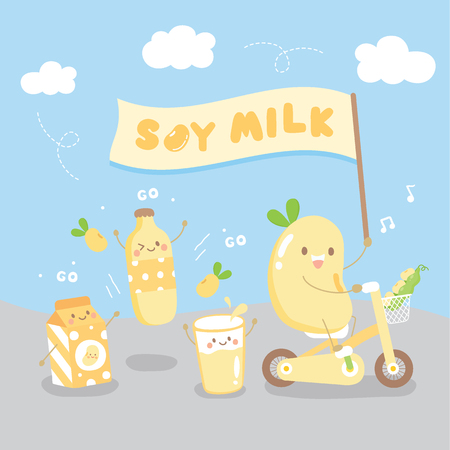 we are soy milk