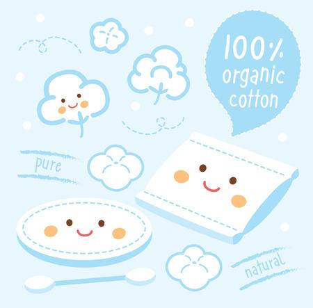 Set Natürliche Bio-Baumwolle