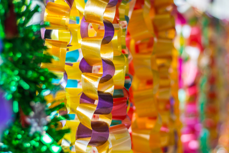 Ribbon Garland for sale in school.