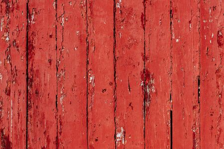 The old red wood texture with natural pattern of one of Myanmar's palaces Stock Photo