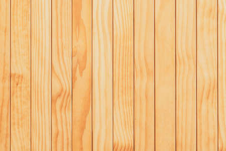 Natural wooden surface made from kiln-dried boards useful as background for design and decoration. Wood material backdrop for wallpaper. Soft brown wooden use for products or texts showing display. Archivio Fotografico