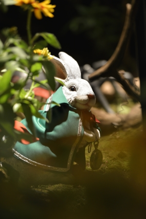 sculpture of rabbit photo