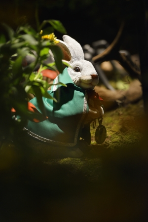 sculpture of rabbit