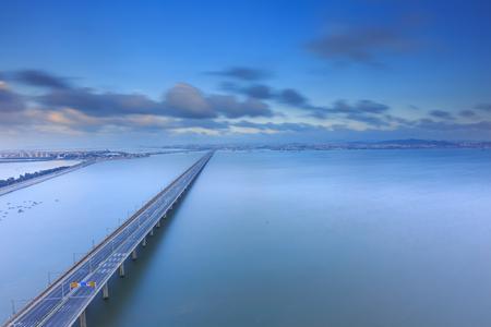 Xiamen Xinglin Bridge Seascape, China