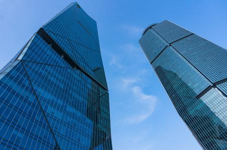 Xiamen, China - May 19, 2018: Skyscraper in Xiamen International Financial Center Editorial