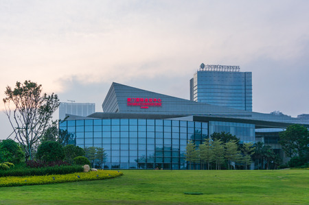 Xiamen, China - May 19, 2018: Xiamen International Conference Center