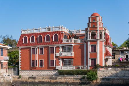 Xiamen, China - May 31, 2018: Ancient Building at Gulangyu Island