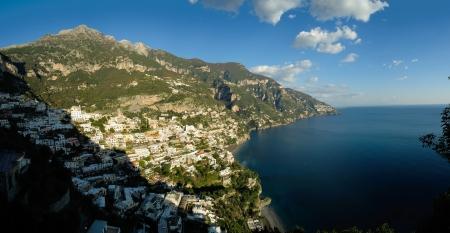 positano: Positano in the Amalfi coast, Italy