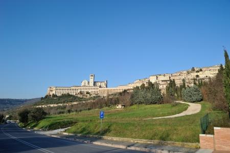 francesco: San Francesco in Assisi, Italy Editorial