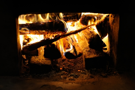 Furnace of Korean Traditional Heating System Ondol Imagens - 20568462